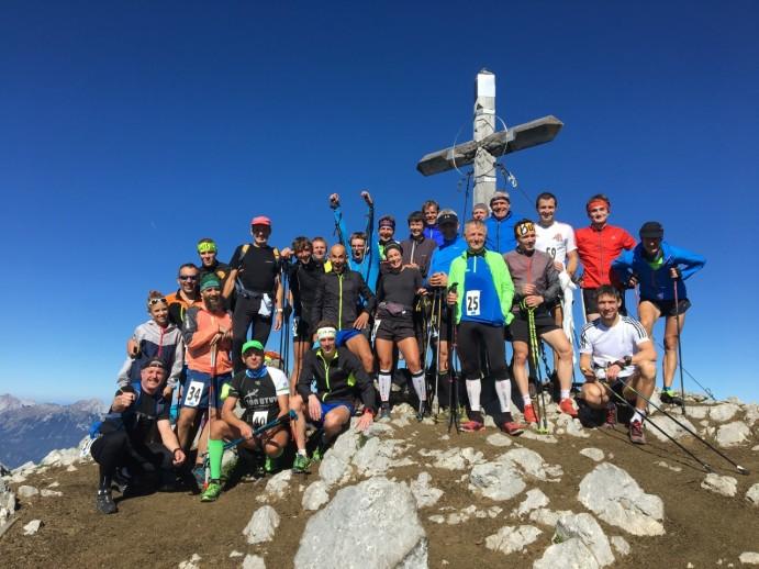 Na vrhu Storžiča (Foto Žiga X.)