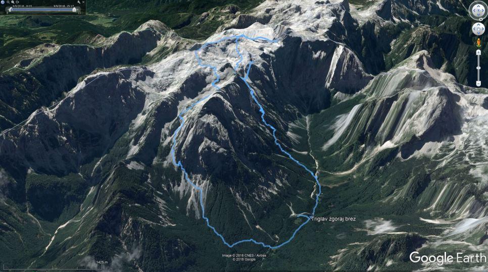 GPS sled ture