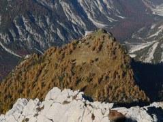 Slemenova špica z Male Mojstrovke