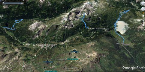 Vse tri ture ta teden na območju Obertauerna